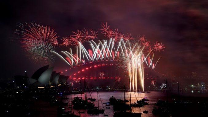 Nueva Zelanda recibió el 2018 antes que nadie: así celebraron la llegada del año nuevo