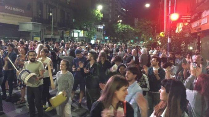 Reforma previsional: En Buenos Aires se escucharon cacerolazos