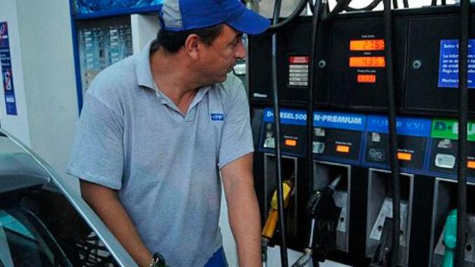 Confirmaron el aumento de los combustibles