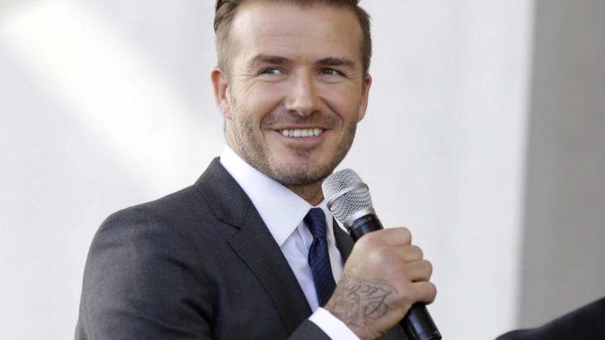 David Beckham presentará su equipo de fútbol en Miami