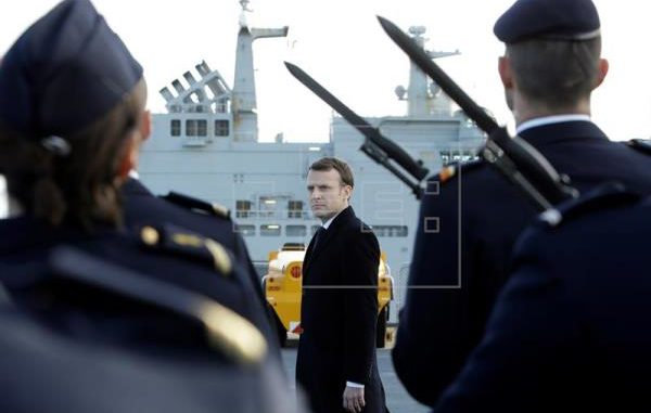 Macron restaura el servicio militar obligatorio en Francia