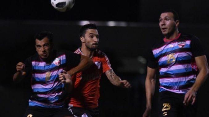 Triplete de Borré en amistoso de River Plate en Miami
