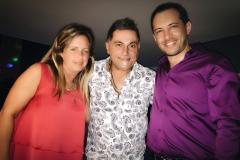 Marcelo Raiher y su novia en el Aquarian Fest